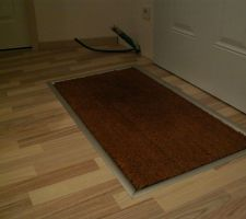 Paillasson encastrable carrelage