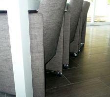 Les fauteuils à roulettes
