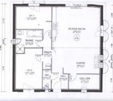 Photos et id es plans de maisons carr es 3 438 photos for Garage denney belfort