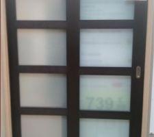 Porte à galandage cuisine/salle à manger Modèle NAGANO