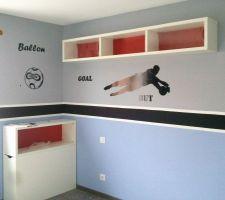 Chambre de mon petit footballeur...