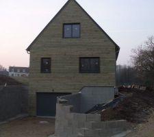 maison ossature bois dans le 37