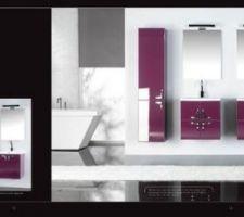 meubles darling de bloc miroir