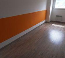 petit coup de peinture orange