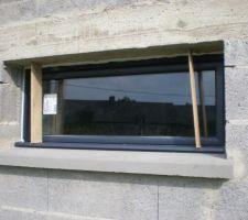 Fenêtre à soufflet garage