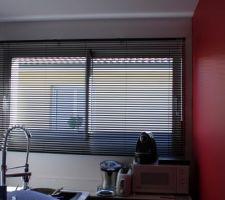 Store fenêtre de cuisine