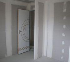 porte de la chambre 4
