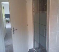 Porte de douche
