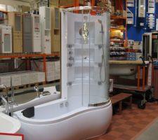 Notre futur baignoire douche