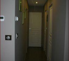 Photos et idées dégagement / couloir sol gris foncé (122 photos)