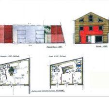 1ère proposition de notre architecte