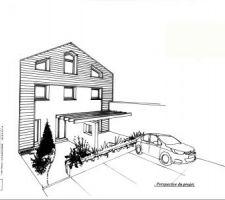 1ère version proposée par notre architecte
