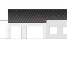 projet garage toit plat