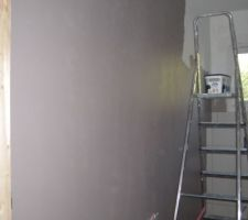 peinture du wc