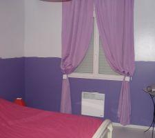Notre chambre en cours de finition , il manque la frise.