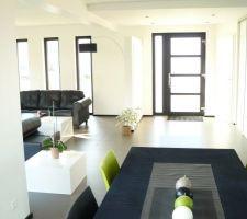 Photos et idées salon - salle à manger meubles verts (60 photos)