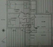 notre 1ere maison bbc toit plat a artannes sur indre