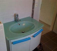 Notre vasque dans la salle de bain
