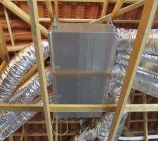 Installation de la pompe à chaleur