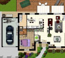 Notre future maison meublée