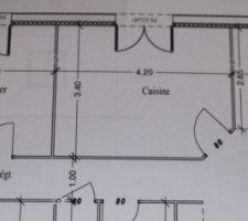 plan de notre cuisine