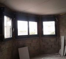Les fenêtres du bow window