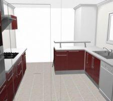 Futur implantation de notre cuisine. Hésitez pas a donner votre avis!