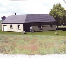 notre future maison en v