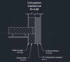 schema de principe mur exterieur