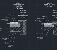 schema de principe toiture