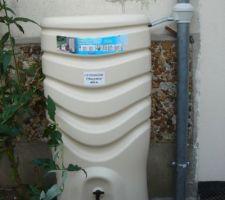 Si ca c'est pas de l'art à l'etat pure.merci aux constructeurs de recuparateur d'eau qui ont un gout de l'esthetisme esquis.