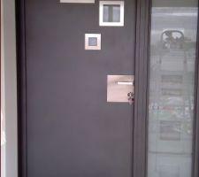 La porte d'entrée est enfin déballée !