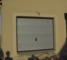 enfin notre porte de garage