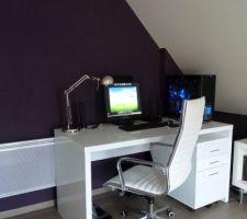 Le bureau enfin terminé!!!