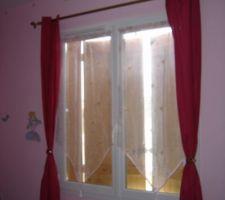 Chambre des filles - Double-rideaux