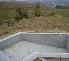 piscine de forme dogleg