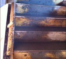 coulage de l escalier beton