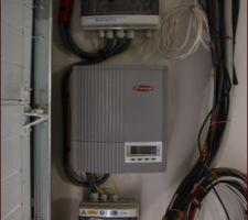 Installation électrique des panneaux photovoltaïques