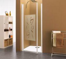 Modèle de la porte de douche des SDB et SDE