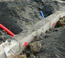 Réservations électricité et eau - emplacement