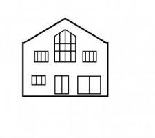 Nouvelle proposition de façade sans couleur