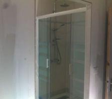 La douche salle d'eau