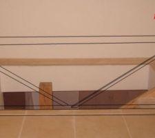 balustrade fixation du poteau sans mur de soutien 1ere proposition