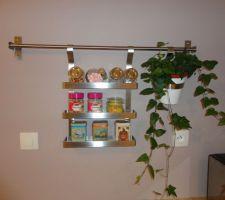 Notre petite étagère suspendue
