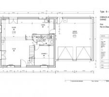 plan maison le masson