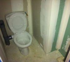 WC Cuvette en céramique blanche 65x35 Bouton poussoir double chasse Abattant double PVC blanc