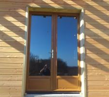 Porte fenêtre du salon