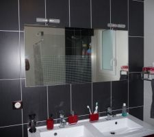 Le miroir et ses luminaires