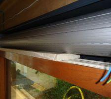 Isolation entre le volet et la fenêtre