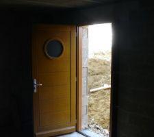 la porte du rez de jardin